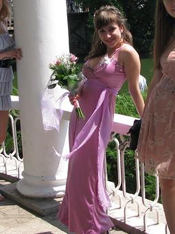 Работа с названием Платье-подружки невесты