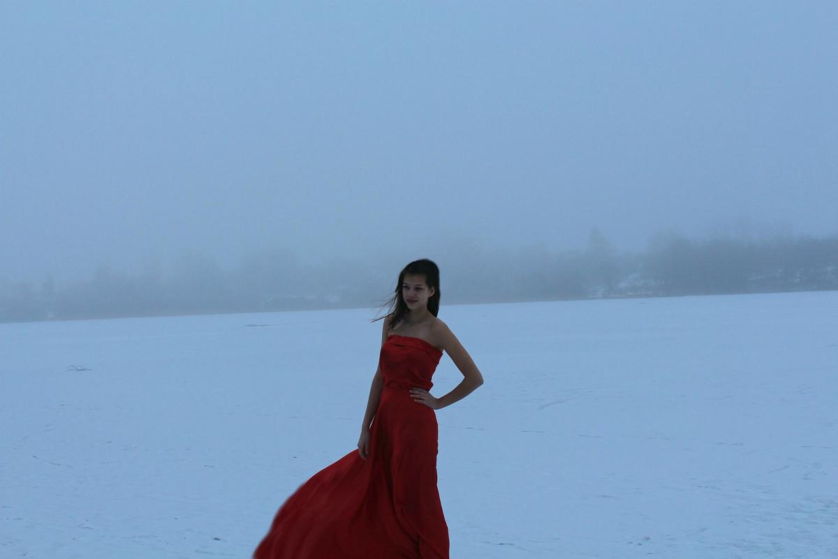 Яблоко наснегу или зимняя фотосессия от Татьяна32