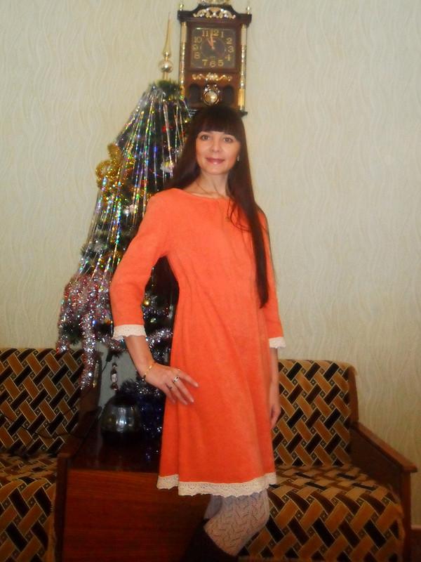 Теплое платье от Анюта Л