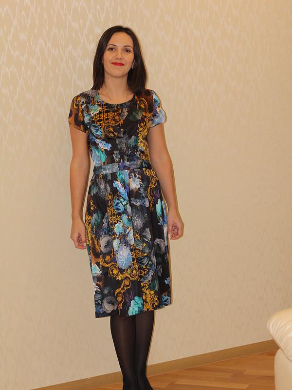 платье шелк от Emerald Bay