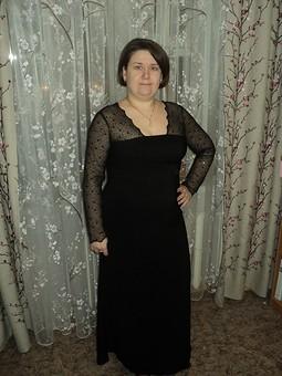 Работа с названием вечернее платье