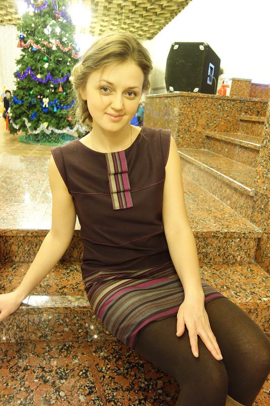 Вместо юбки - платье!!! от OLGA RYCHKOVA