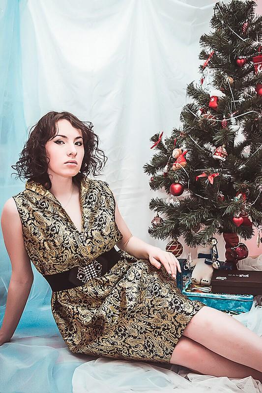 Мое новогоднее платье