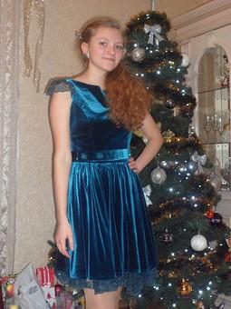 Работа с названием Новогодние платья для моих принцесс