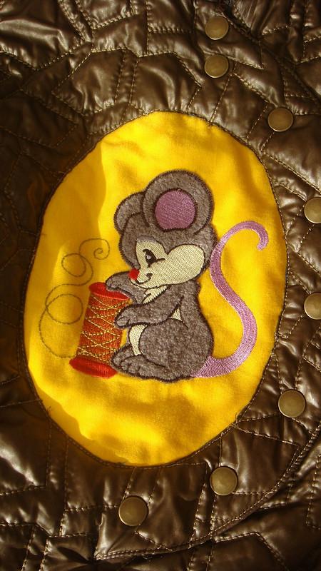 Мышонок (осенний комбез) от ОлечкаДевочка