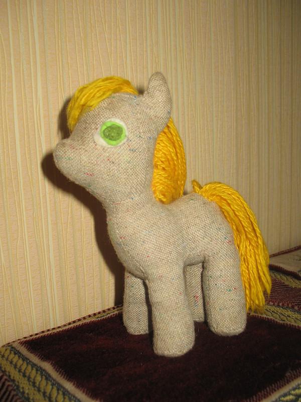 Текстильная игрушка лошадка от Тамиша