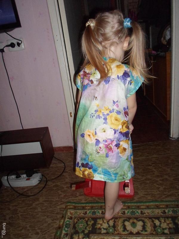 летнее платьице