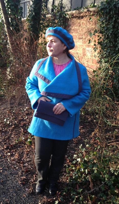 синий зима трио от marialeokadia