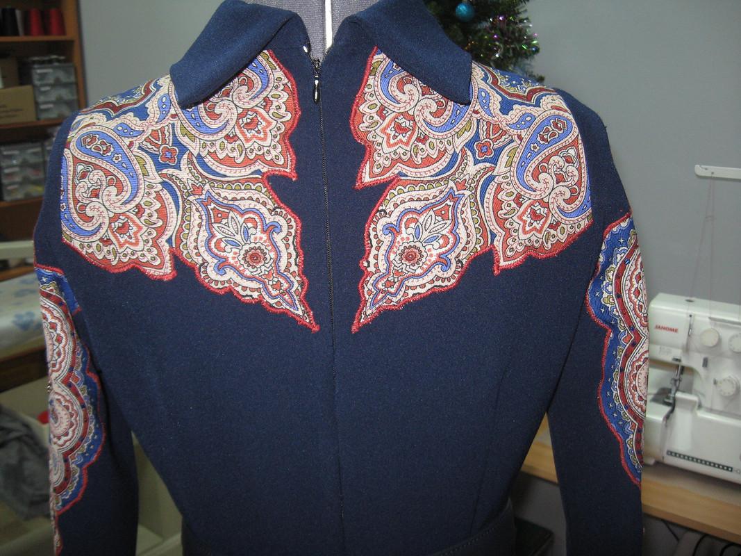 Французское платье нарусский лад