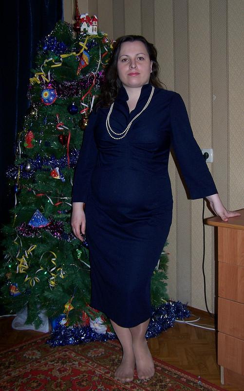 Первое платье длясебя кНовому году.