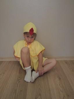 Работа с названием Цып-цып-цыпленок.