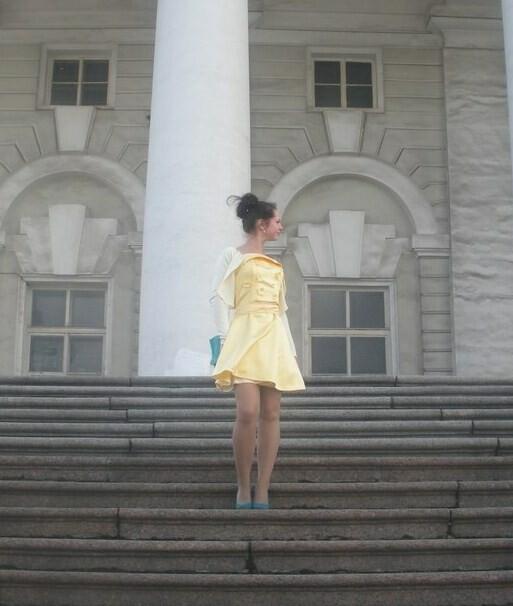 Французское платье, прости! Или переделка небезделка!