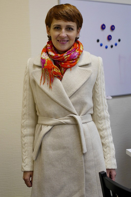 Долгожданное илюбимое пальто. Модель106, Burda 10/2011