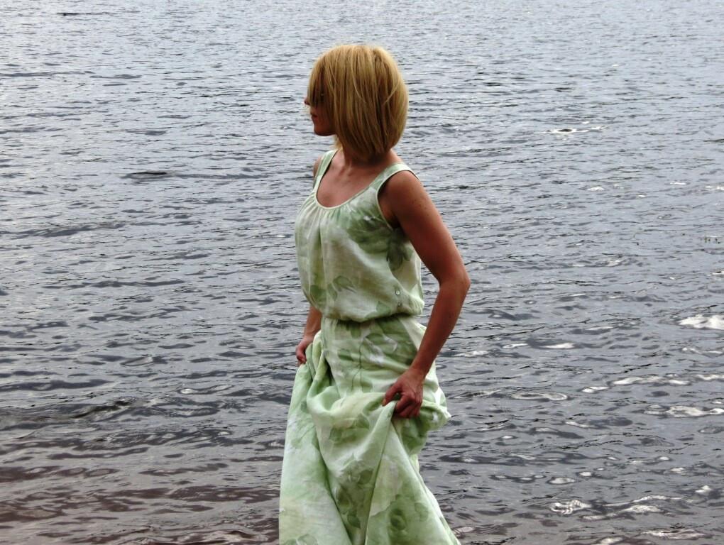 Платье изльна от jozikins