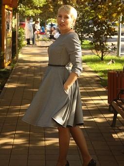 Работа с названием платье КЛАССИКА