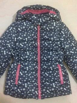 Работа с названием И снова куртка для племянницы