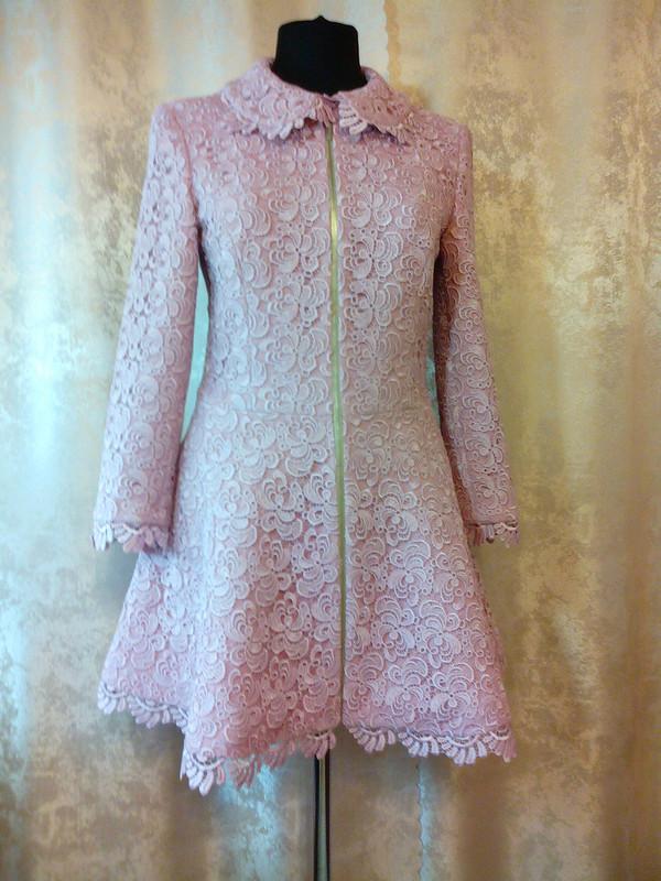Кружевное пальто