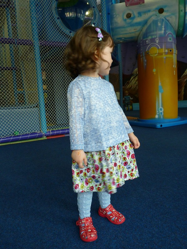 Комбинированное платье от ЛенаКор