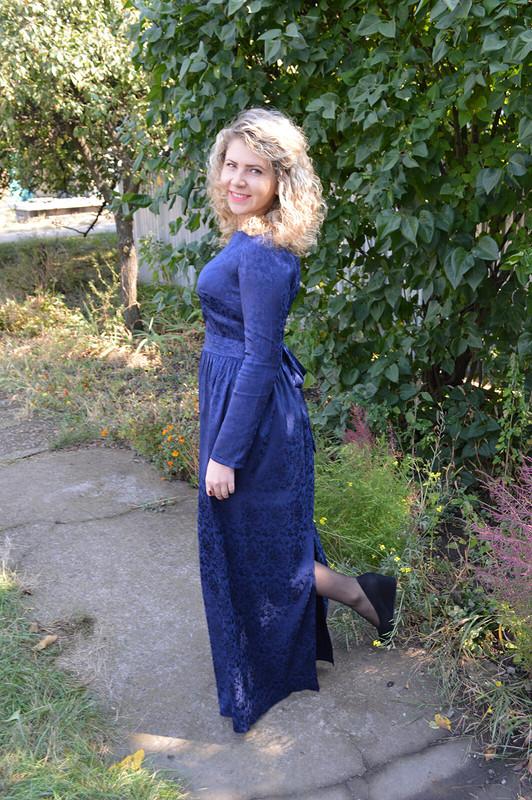 Синее платье) от Koreshok132