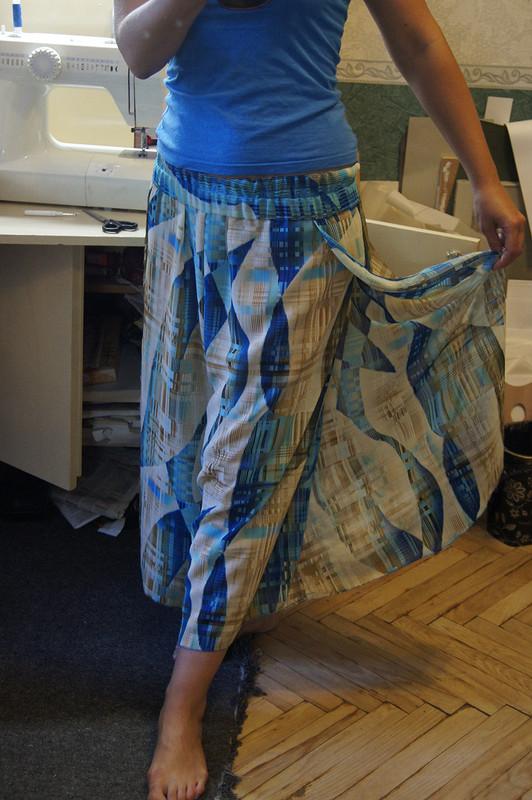 Юбка-брюки от Valerie