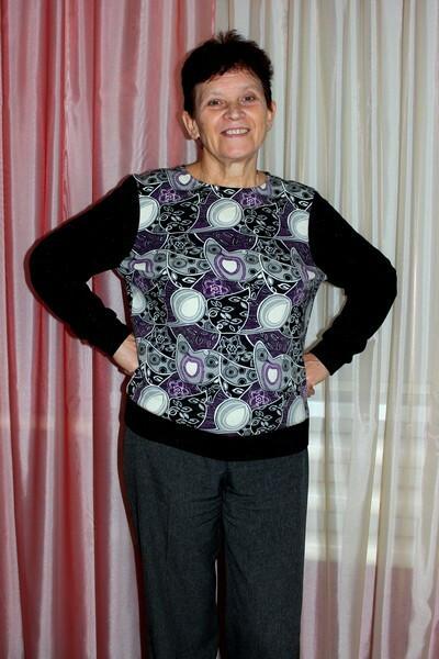Пуловер изангоры