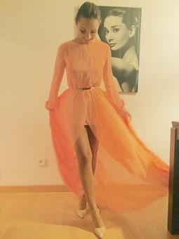 Работа с названием Платье, подарок для сестрёнки :-*