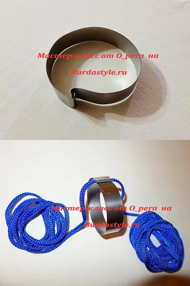 Украшения изтекстильного шнура