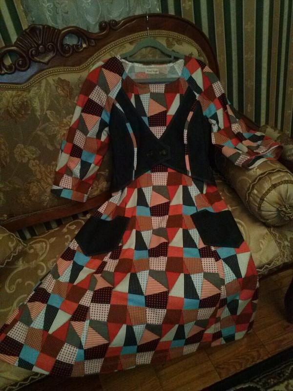 Платье Заплатки