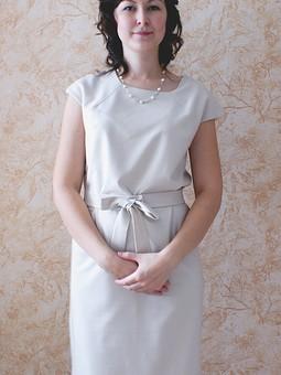 Работа с названием торжественное платье
