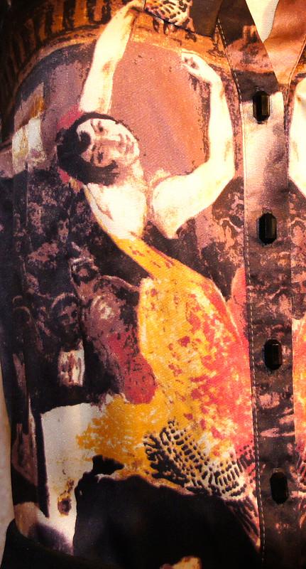 Блузка сБалериной от Lafanten