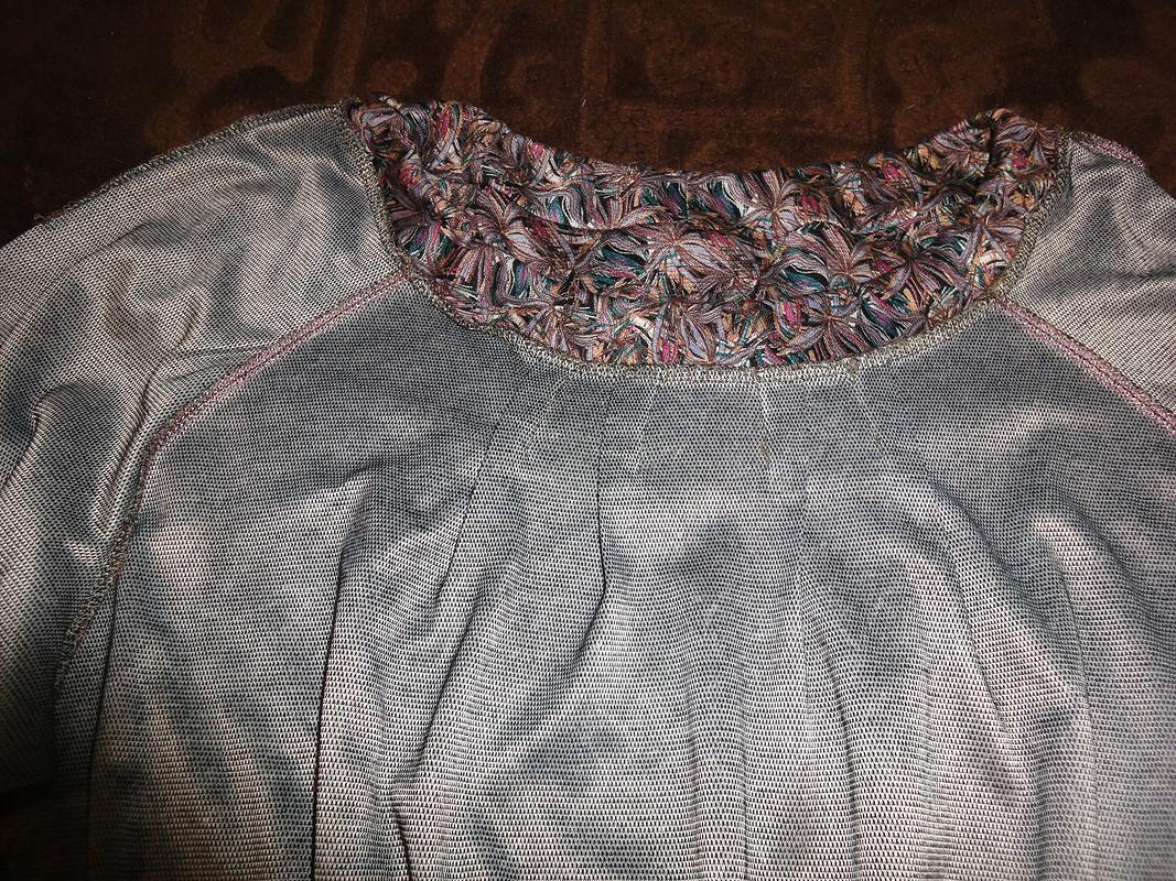 Блузка превращается....