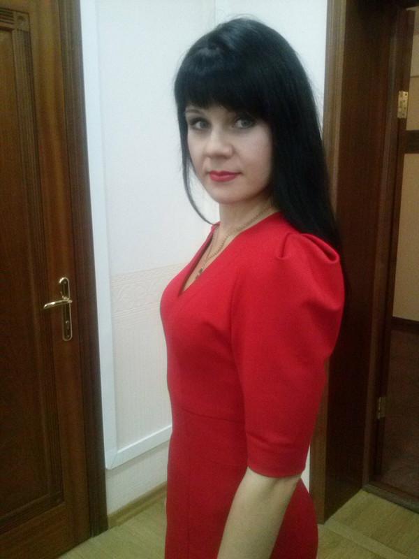 Маленькое красное платье от Olenka79