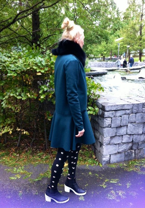 Пальто- платье.