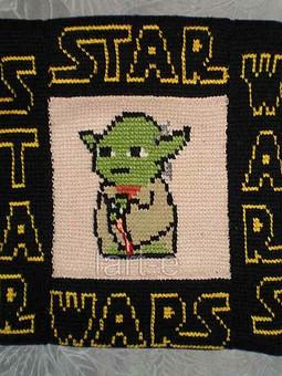 Работа с названием Звездные войны. Йода.