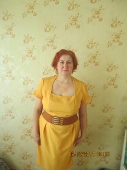 Работа с названием Платье для любимой мамочки.