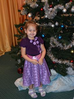 Работа с названием Сказочный Новогодний наряд для моей принцессы!!!!