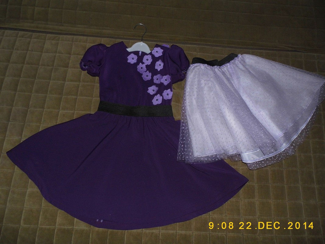 Сказочный Новогодний наряд длямоей принцессы!!!! от natalikuzina