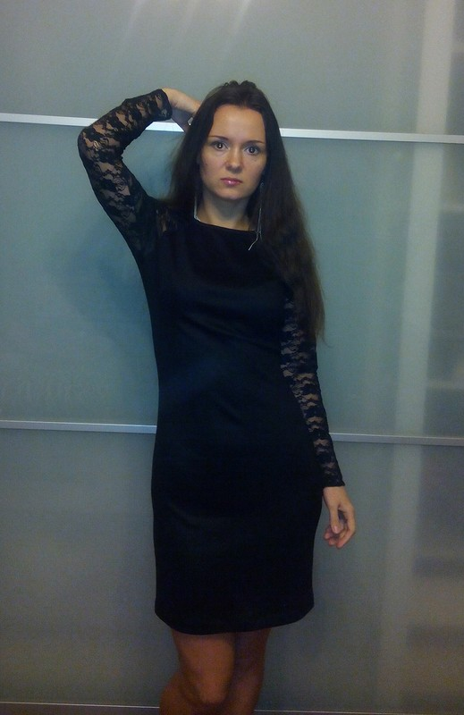 Платье черное от Марина Вокуева