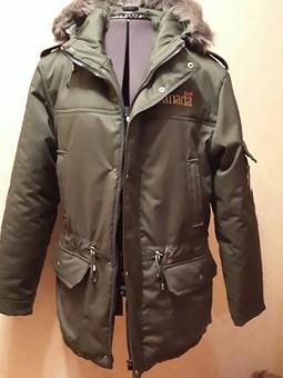 Работа с названием зимняя куртка мужу