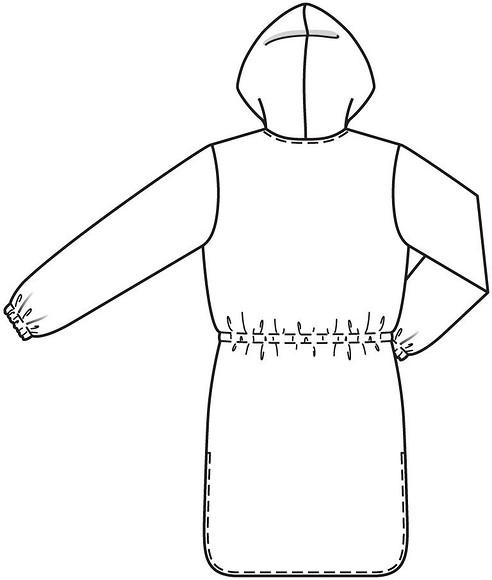 Шьем длинную блузку