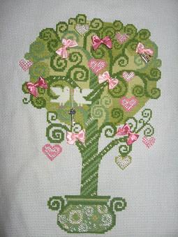 Работа с названием Дерево любви Риолис