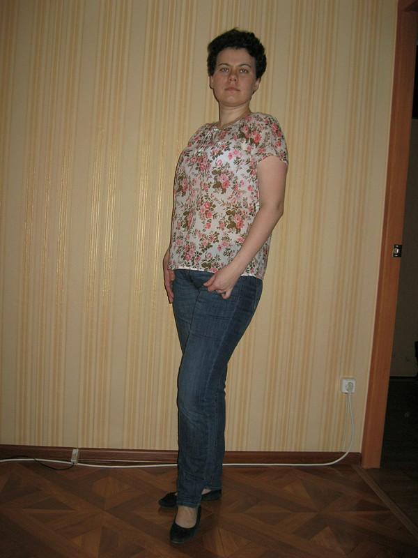 Батистовая рубашечка