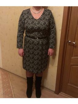 Работа с названием Кружевное платье
