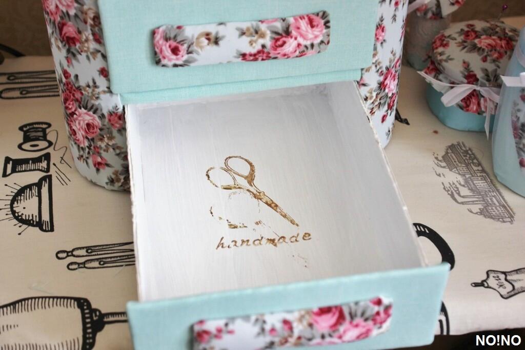 Шкатулка дляшвейных принадлежностей