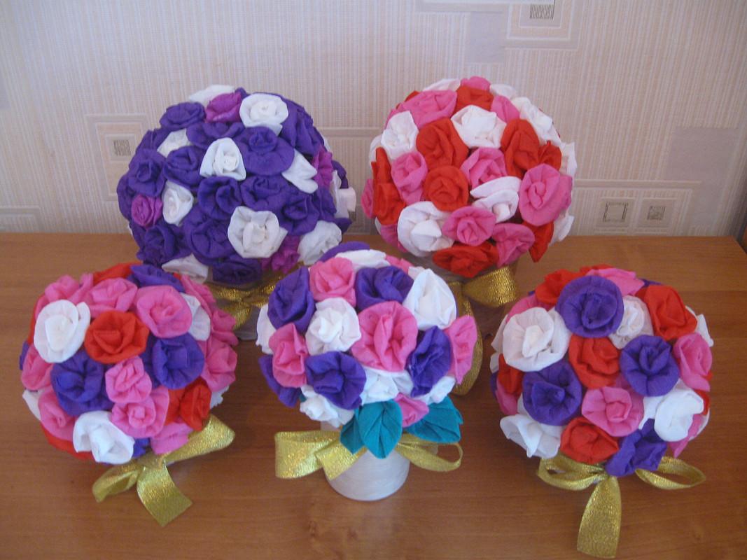 Цветы изткани ине только.....