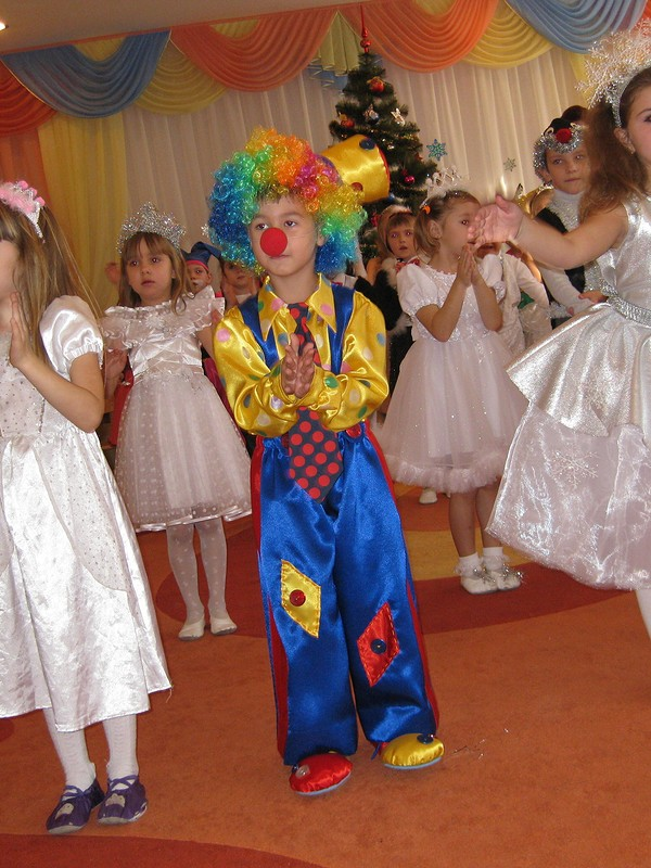 клоун накарнавал от valka79