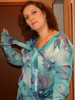 Работа с названием Опять блузка!