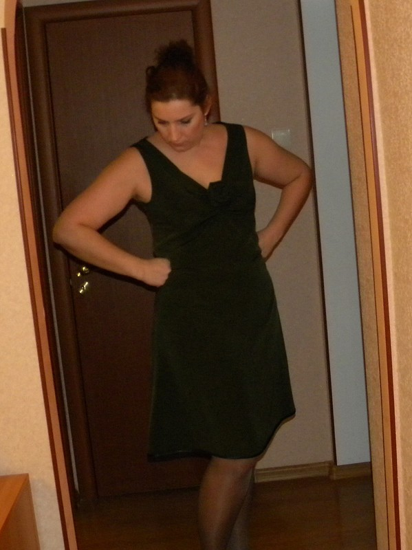 Коктейльное платье от Евгения Ильина