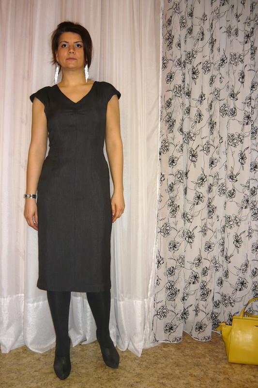 платье цвета «графит» от YuliaЮлия
