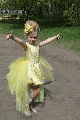детское платье навыпускной от любочка-любовь